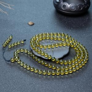 9mm墨西哥蓝珀108佛珠