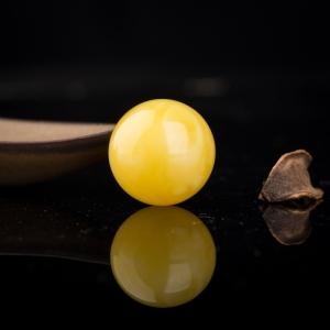 24.5mm白花蜜圆珠
