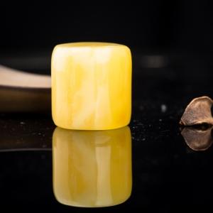 雞油黃蜜蠟桶珠