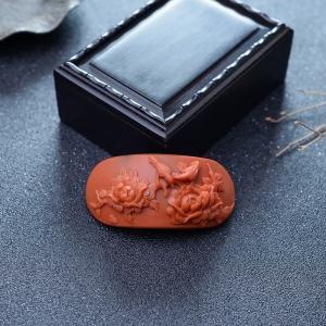 柿子红南红花开富贵手排