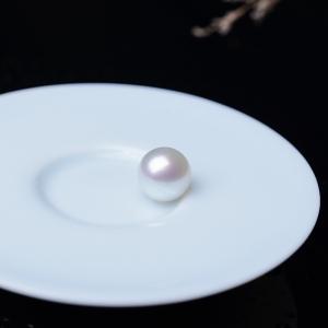 12.5mm海水白色珍珠圆珠