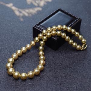 海水金色珍珠塔鏈