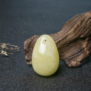 檸檬黃蜜蠟隨形吊墜
