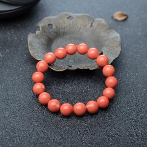 10.5mmMOMO珊瑚单圈手串