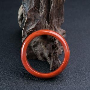 56.5mm柿子红南红平安镯