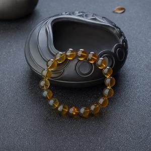 10mm蟲珀單圈手串