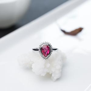 18K红宝石戒指