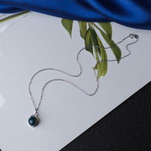 18K多米蓝珀项链