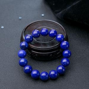 13mm天藍色青金石單圈手串
