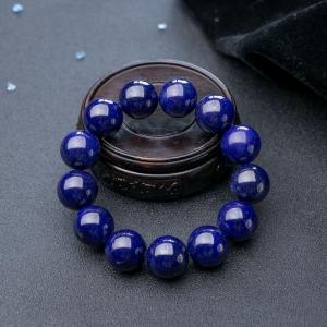 18mm深藍色青金石單圈手串