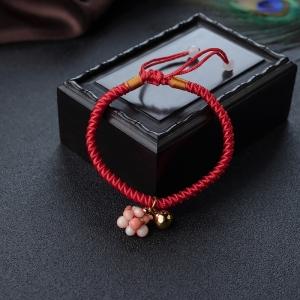 深水珊瑚葫芦手链