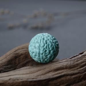高瓷蓝绿绿松石金刚珠