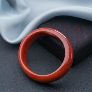57.5mm柿子红南红贵妃镯
