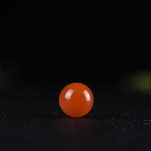 15.5mm樱桃红南红圆珠