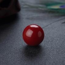 21mm阿卡牛血红珊瑚圆珠
