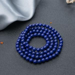 5.5mm深藍色青金石108佛珠