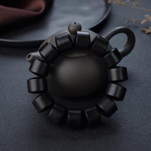 半星小葉紫檀桶珠單圈手串