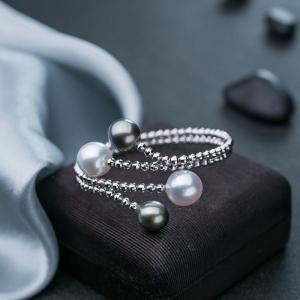 18K海水珍珠手环