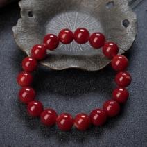 10.5mm阿卡牛血红珊瑚单圈手串