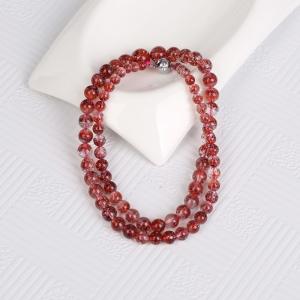 金草莓晶塔链