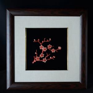 MOMO珊瑚梅花壁畫
