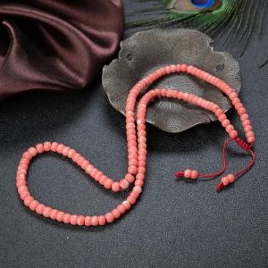 MOMO珊瑚鼓珠多圈手串