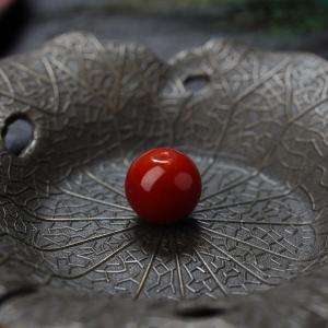 阿卡牛血红珊瑚苹果珠