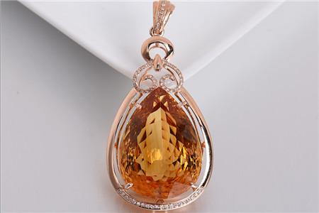 天然黄水晶如何鉴别?怎样鉴别天然黄水晶与仿制品?