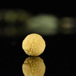 15mm山料黃龍玉暗香疏影圓珠