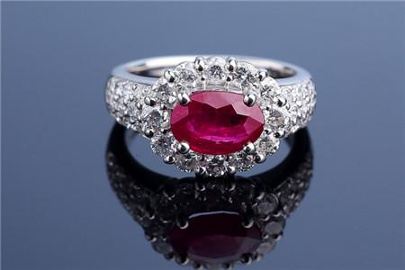 红宝石鉴定方法,怎样鉴定红宝石真假?
