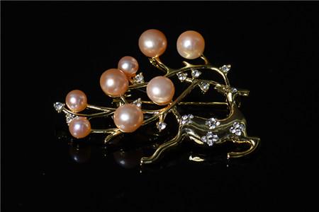 珍珠胸针价格多少钱?珍珠胸针的魅力所在