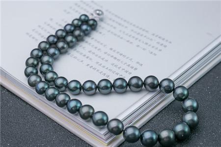 黑珍珠项链都是黑色的吗?黑珍珠项链图片解析!