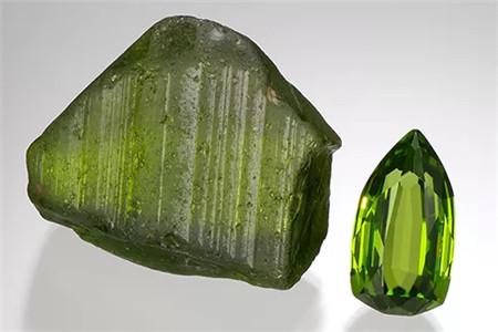 橄榄石如何辨别真假?橄榄石真假辨别技巧