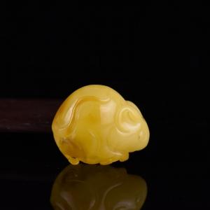 金绞蜜蜜蜡子鼠吊坠