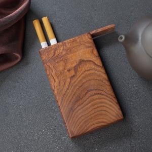 海南虎皮紋黃花梨煙盒