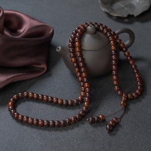 海南黃花梨桶珠多圈手串