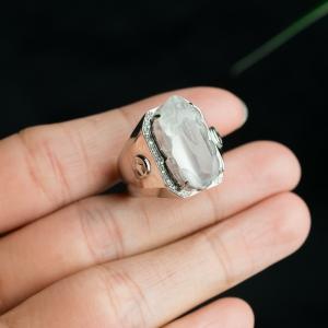 18K冰种翡翠貔貅戒指