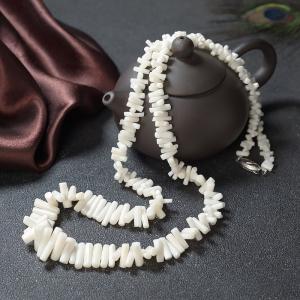 白珊瑚随形塔链