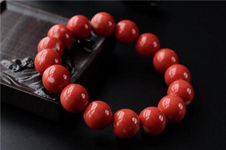 红珊瑚手串价格及图片,红珊瑚手串价格多少钱一克?