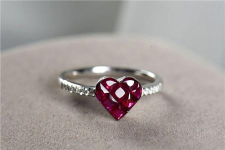 红宝石戒指图片,红宝石戒指如何挑选