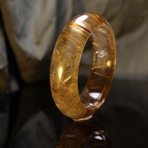 57.5mm金发晶手镯