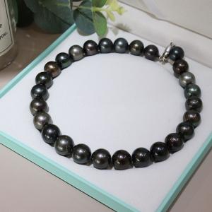 海水黑色珍珠塔链