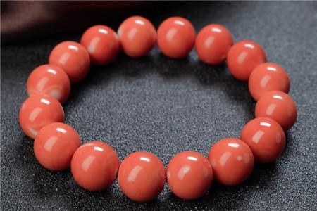 红珊瑚手串价格及图片