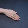 天然翠色翡翠戒指-红掌柜