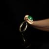 翠綠翡翠戒指-紅掌柜