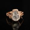 18K金鑲冰種翡翠葫蘆戒指-紅掌柜