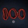 天然红珊瑚兽骨项链-红掌柜