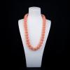 MISU粉色珊瑚項鏈-紅掌柜