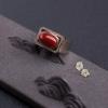 阿卡深红珊瑚戒指-红掌柜