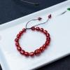 阿卡深红珊瑚桶珠手串-红掌柜